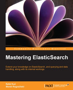 Cover of Mastering ElasticSearch