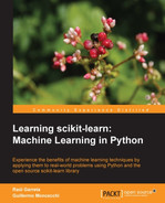 Cover of Learning scikit-learn: Machine Learning in Python