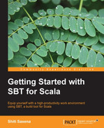 Cover of Getting Started with SBT for Scala