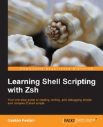 Cover of Learning Shell Scripting with Zsh