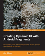 Cover of Creating Dynamic UI with Android Fragments