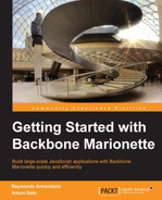 Cover of Getting Started with Backbone Marionette