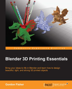 Cover of Blender 3D Printing Essentials