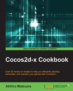 Cover of Cocos2d-x Cookbook