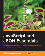 Cover of JavaScript and JSON Essentials