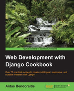 Cover of Web Development with Django Cookbook