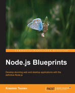 Cover of Node.js Blueprints