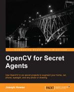 Cover of OpenCV for Secret Agents