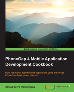 Cover of PhoneGap 4 Mobile Application Development Cookbook