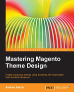 Cover of Mastering Magento Theme Design