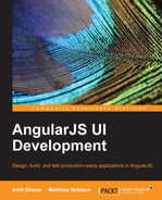 Cover of AngularJS UI Development