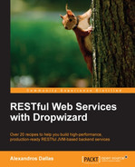 Cover of RESTful Web Services with Dropwizard