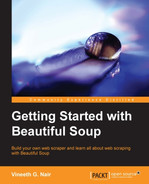 Cover of Getting Started with Beautiful Soup
