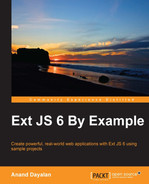 Cover of Ext JS 6 By Example