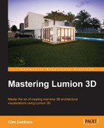 The remarkable Context menu - Mastering Lumion 3D [Book]