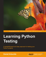 Cover of Learning Python Testing
