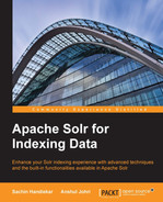 Cover of Apache Solr for Indexing Data