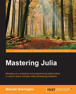 Cover of Mastering Julia