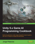 Cover of Unity 5.x Game AI Programming Cookbook