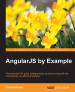 Book cover for AngularJS by Example