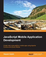 Cover of JavaScript Mobile Application Development