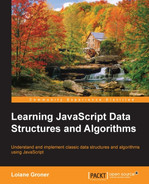Cover of Learning JavaScript Data Structures and Algorithms