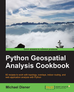 Cover of Python Geospatial Analysis Cookbook