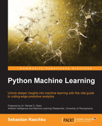 Book cover for Python Machine Learning