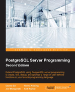 Cover of PostgreSQL Server Programming - Second Edition