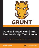 Cover of Getting Started with Grunt: The JavaScript Task Runner