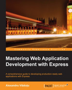 Cover of Mastering Web Application Development with Express