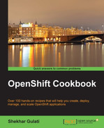 Cover of OpenShift Cookbook