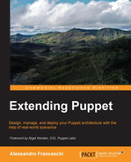 Cover of Extending Puppet