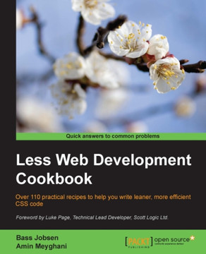 Less Web Development Cookbook