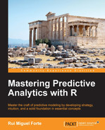 Cover of Mastering Predictive Analytics with R
