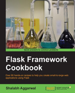 Cover of Flask Framework Cookbook
