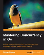 Cover of Mastering Concurrency in Go