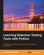 Cover of Learning Selenium Testing Tools with Python