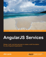 Cover of AngularJS Services