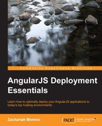 Cover of AngularJS Deployment Essentials