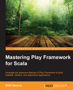 Cover of Mastering Play Framework for Scala