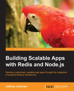 Cover of Building Scalable Apps with Redis and Node.js