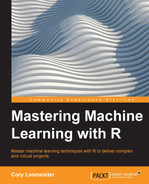 Cover of Mastering Machine Learning with R