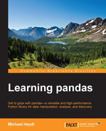 Cover of Learning pandas
