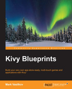 Cover of Kivy Blueprints