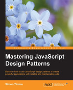 Cover of Mastering JavaScript Design Patterns