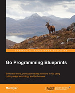 Cover of Go Programming Blueprints