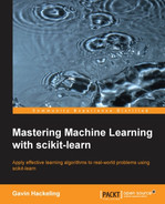 Cover of Mastering Machine Learning with scikit-learn