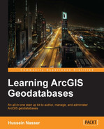 Cover of Learning ArcGIS Geodatabases