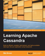 Cover of Learning Apache Cassandra